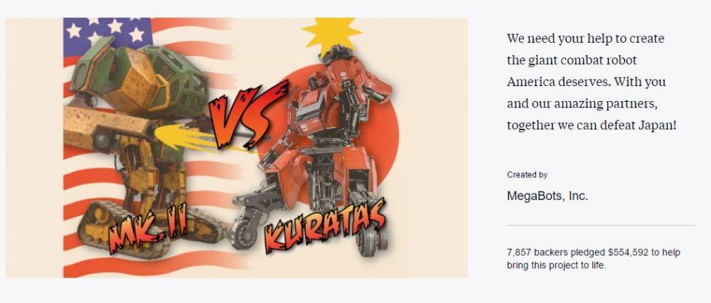 megabots walki robotów