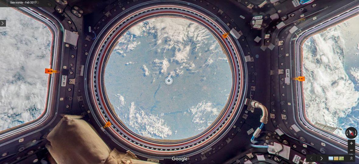 To mały krok Google, ale wielki skok dla kosmicznych turystów. Google Street View na ISS