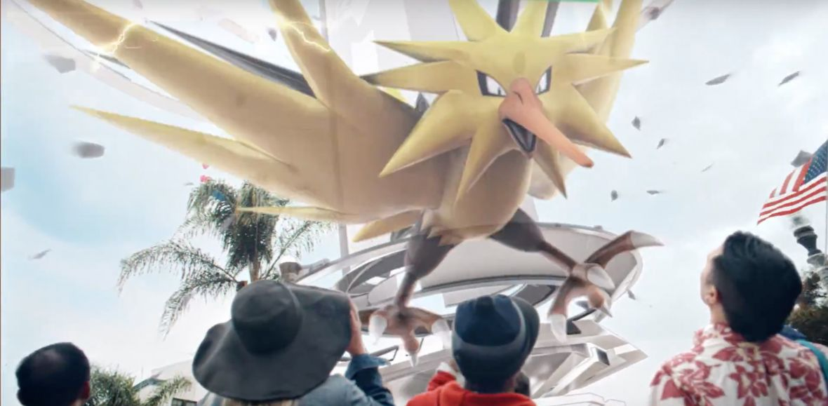 Legendarne Pokemony w Pokemon GO! Gracze muszą połączyć siły, aby je złapać