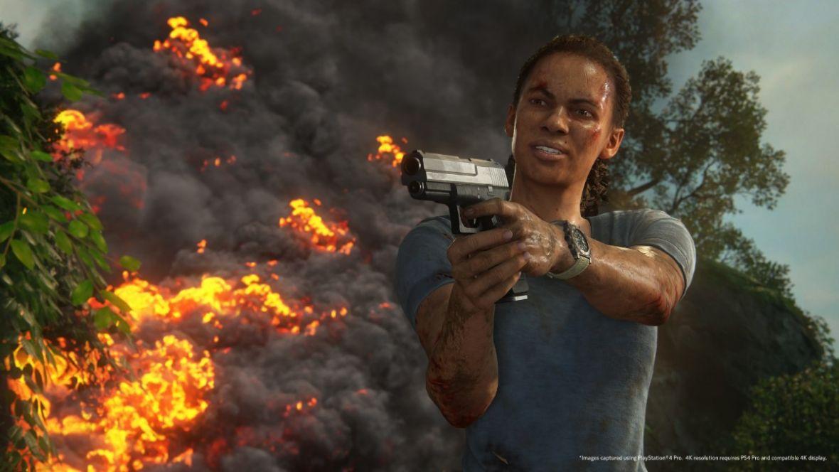 Uncharted: Zaginione Dziedzictwo może być najlepszym Tomb Raiderem, w jakiego grałem