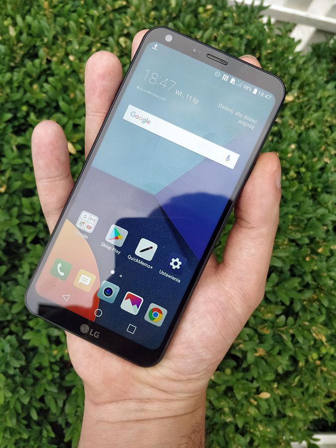LG Q6 wrażenia