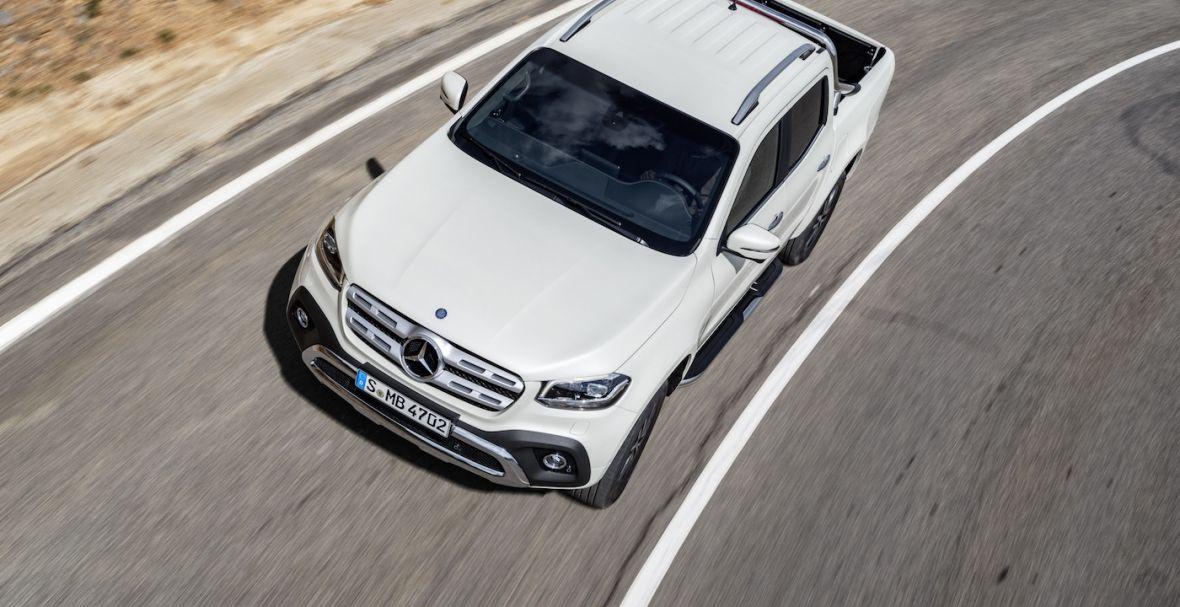 Mercedes trolluje klientów nową Klasą X