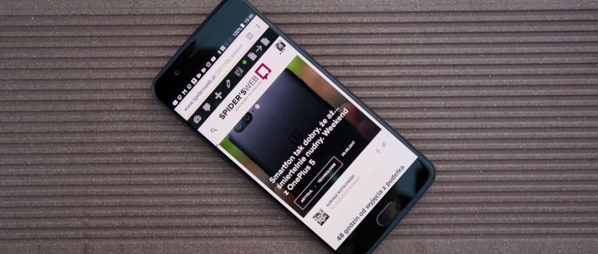 Mój werdykt jest taki: kupować. OnePlus 5 – recenzja Spider's Web