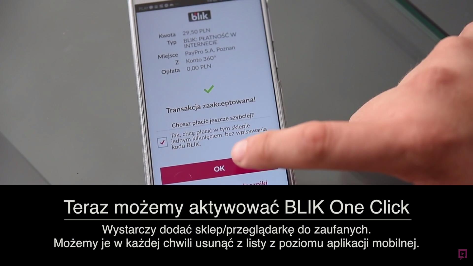 Polacy stworzyli prawdopodobnie najlepszą metodę płatności w Internecie. Oto Blik One Click.