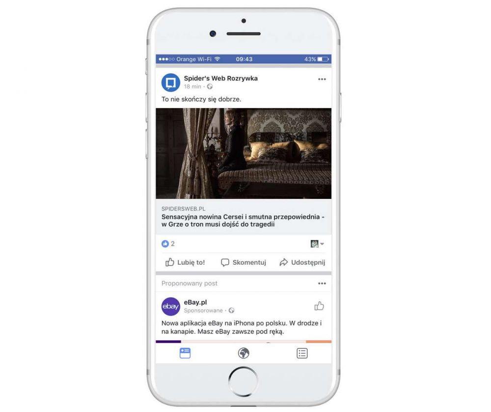 Facebook iOS