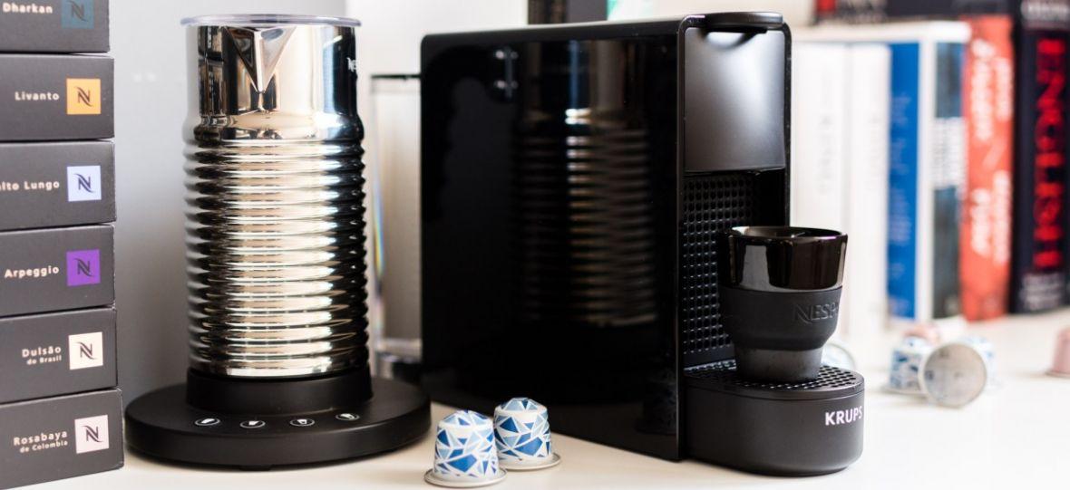 Nespresso Essenza Mini, czyli źródło pysznej kawy dla tych, którym miejsca nie zbywa