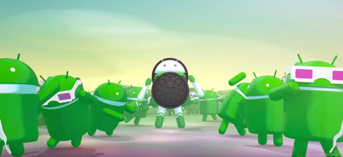 Przepraszam, czy ktoś widział Androida Oreo?