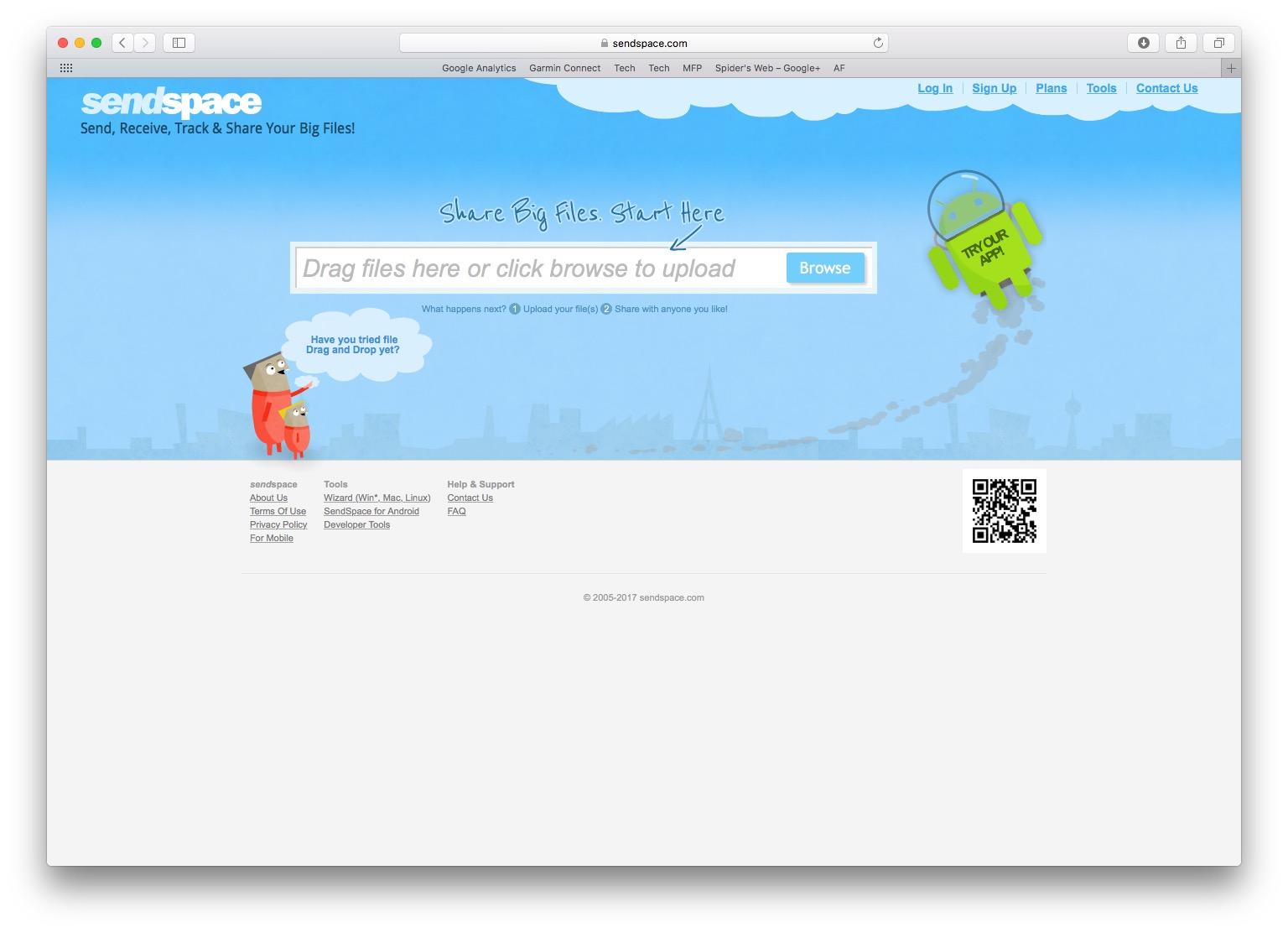Jak wysłać duży plik za darmo? Można skorzystać z serwisu Sendspace