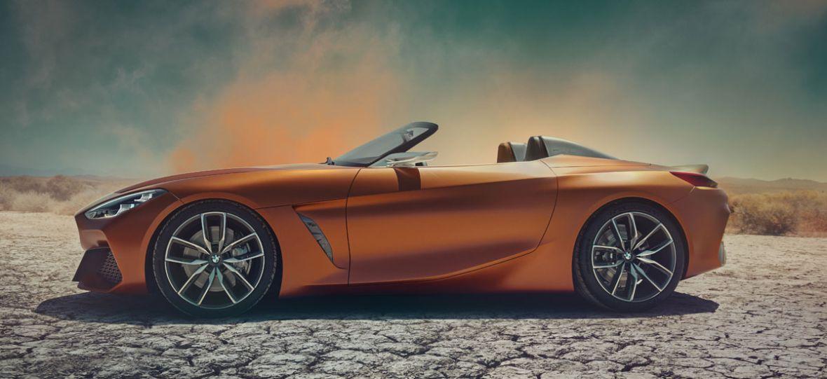 BMW Z4 Concept to przepiękny roadster. Oby Bawarczycy nie zmienili go za bardzo w wersji produkcyjnej
