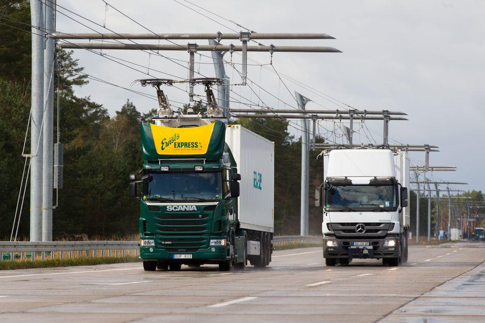 elektryczne autostrady ehighway