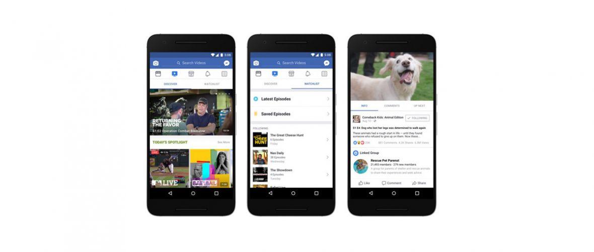 Facebook dopiął swego i stał się platformą wideo. Oto Facebook Watch