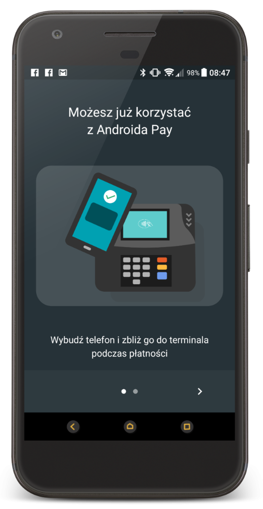 Android Pay w końcu jest dostępny dla wszystkich klientów mBanku