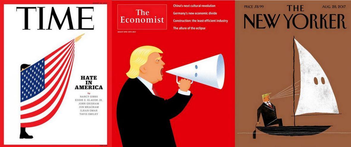 Polska prasa może tylko brać przykład. Te potężne okładki prasowe mówią więcej, niż tysiąc słów