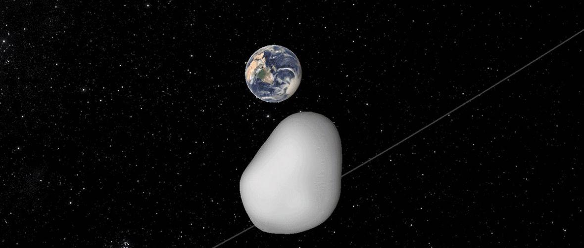 W październiku odwiedzi nas niewielka planetoida. TC4 może przelecieć naprawdę blisko Ziemi