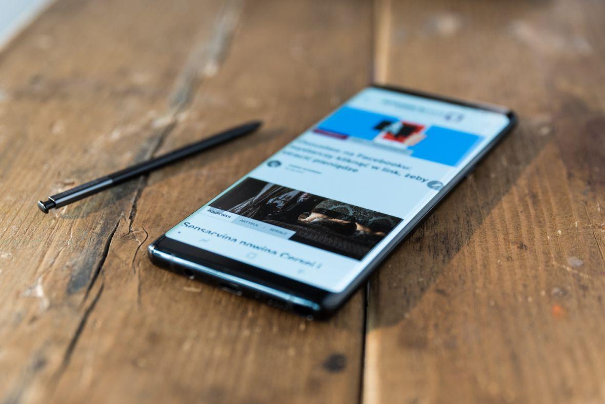 Ekran Samsunga Galaxy Note 8 przyćmiewa całą konkurencję. Dosłownie