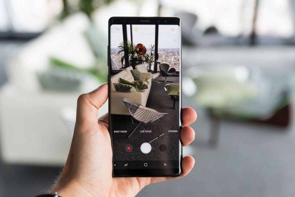 Samsung odpowiada na nowości w iPhonie X. Aktualizując aparat w Galaxy Note 8