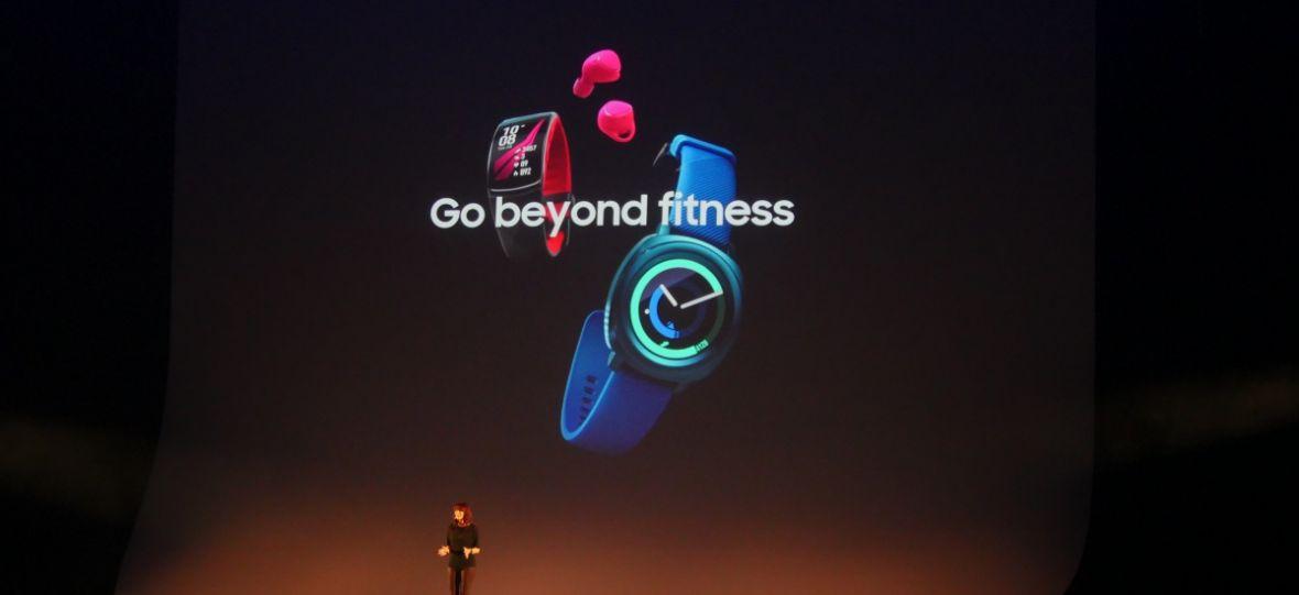 Samsung stawia na fitness. Oto nowy zegarek, opaska i słuchawki Samsung Gear