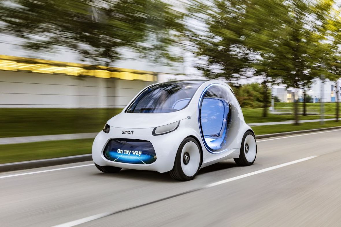 Daimler właśnie pokazał taksówkę przyszłości, a ja już chciałbym ją zamówić