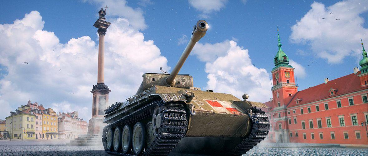 Legendarny czołg Pudel w WoT. Twórcy oddają piękny hołd warszawskim Powstańcom