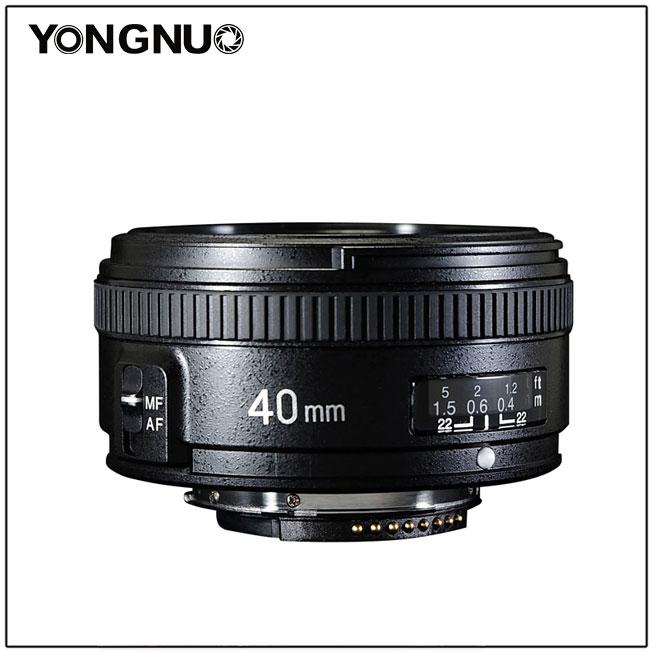 yongnuo 40mm f/2.8