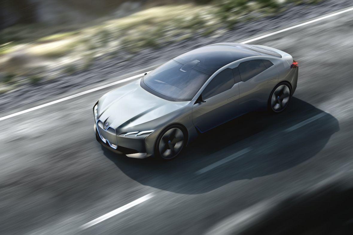 Jeśli tak mają wyglądać elektryczne BMW, to Tesla ma sięczego obawiać