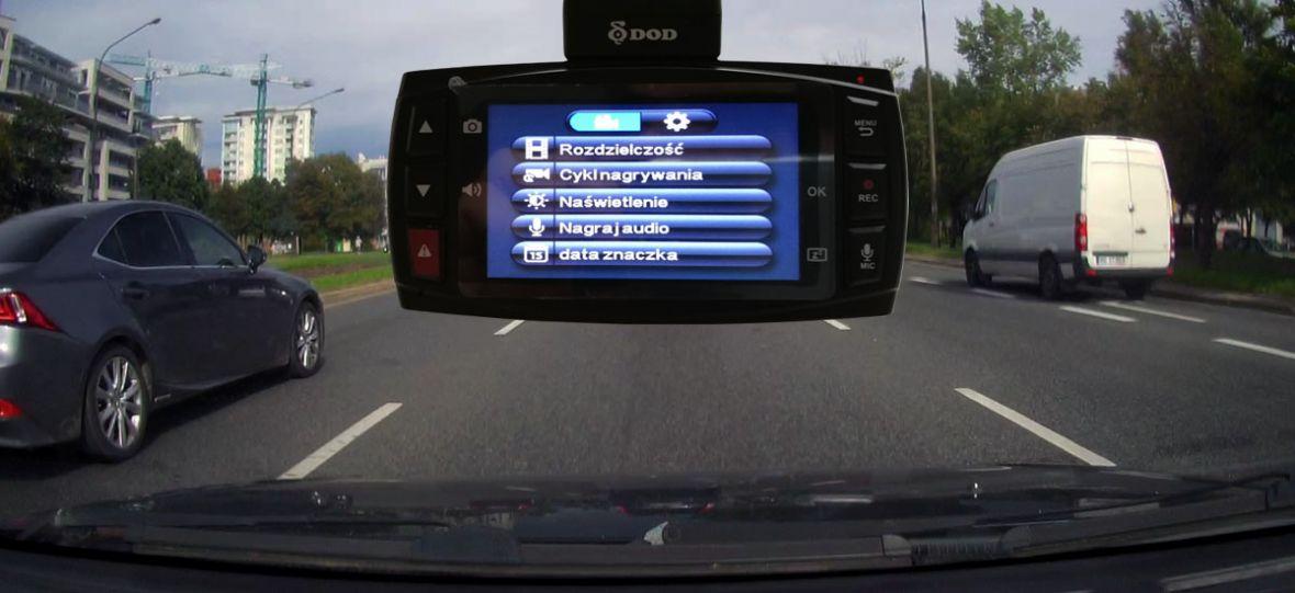 Co potrafi wideorejestrator za ponad 1000 zł? DOD LS475W+ – recenzja