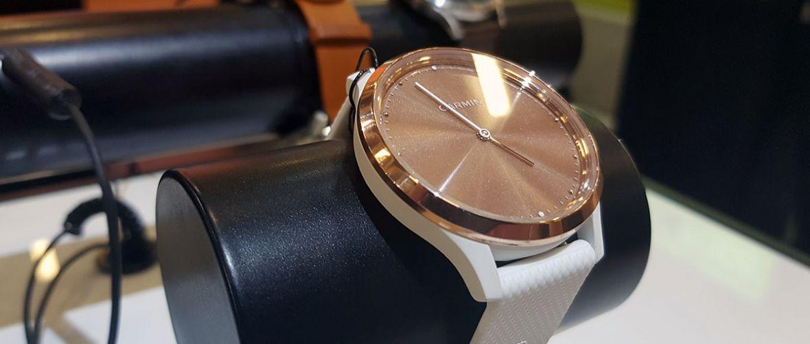 Oto hybrydowy zegarek vívomove HR i całkiem zmyślna opaska fitnessowa Garmina