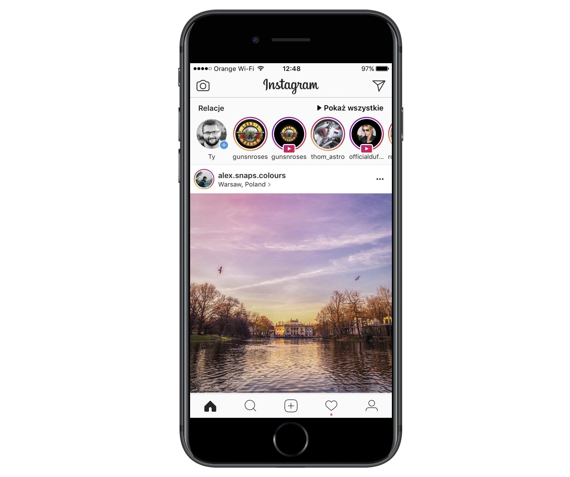 Instagram Relacje