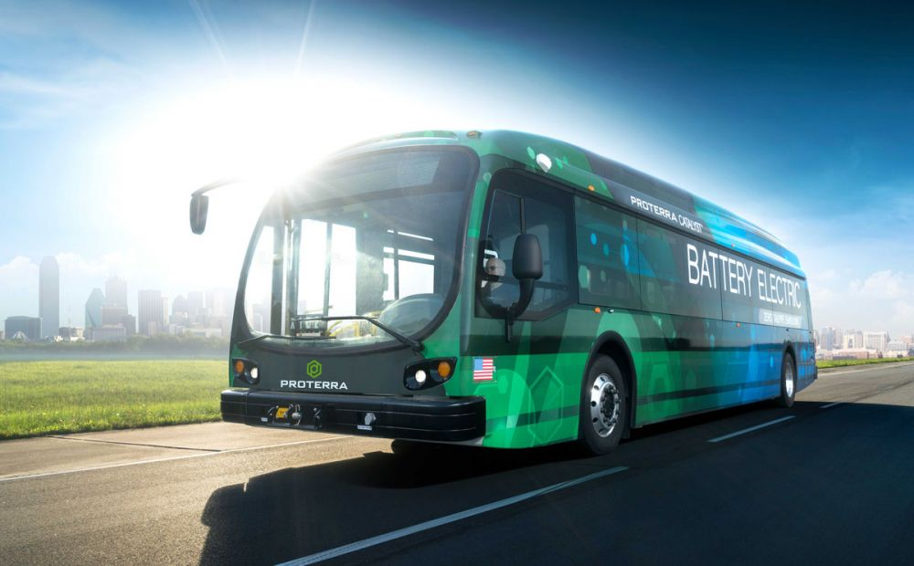 Rekord Proterra autobus elektryczny