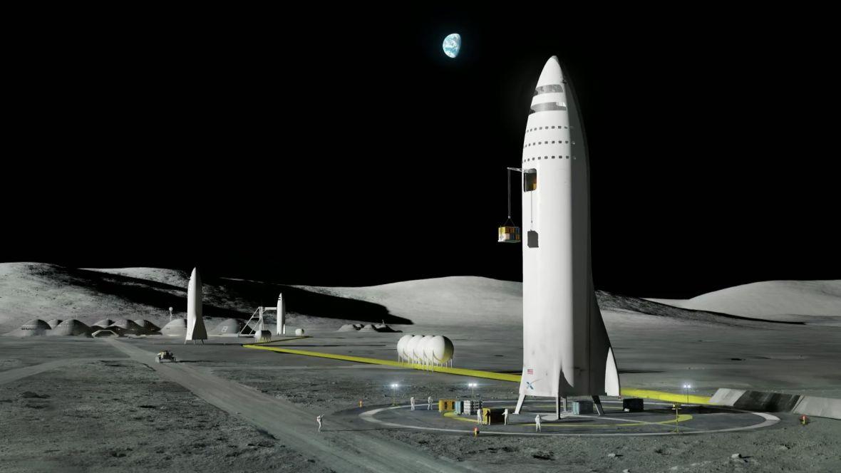 Dlaczego statek Elona Muska będzie miał cztery podpory podczas lądowania? Miliarder odpowiedział na pytania internautów