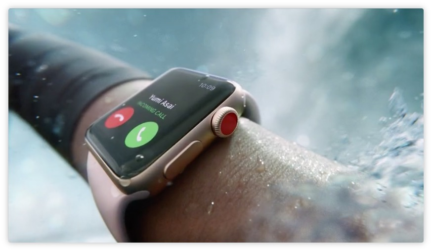 Apple prezentuje Apple Watch Series 3