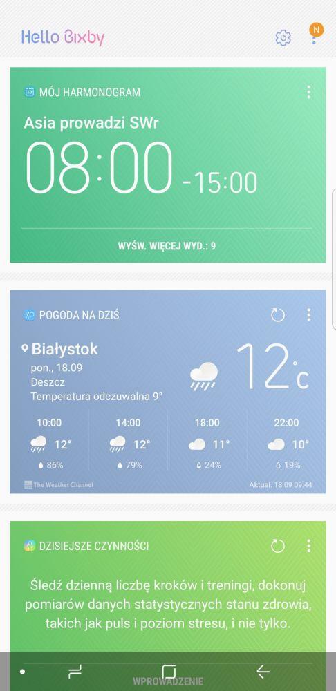 Bixby - Samsung Galaxy Note 8