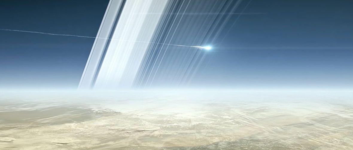 Ostatnie odliczanie przed końcem misji sondy Cassini. Za kilka dni zanurkuje w atmosferze Saturna