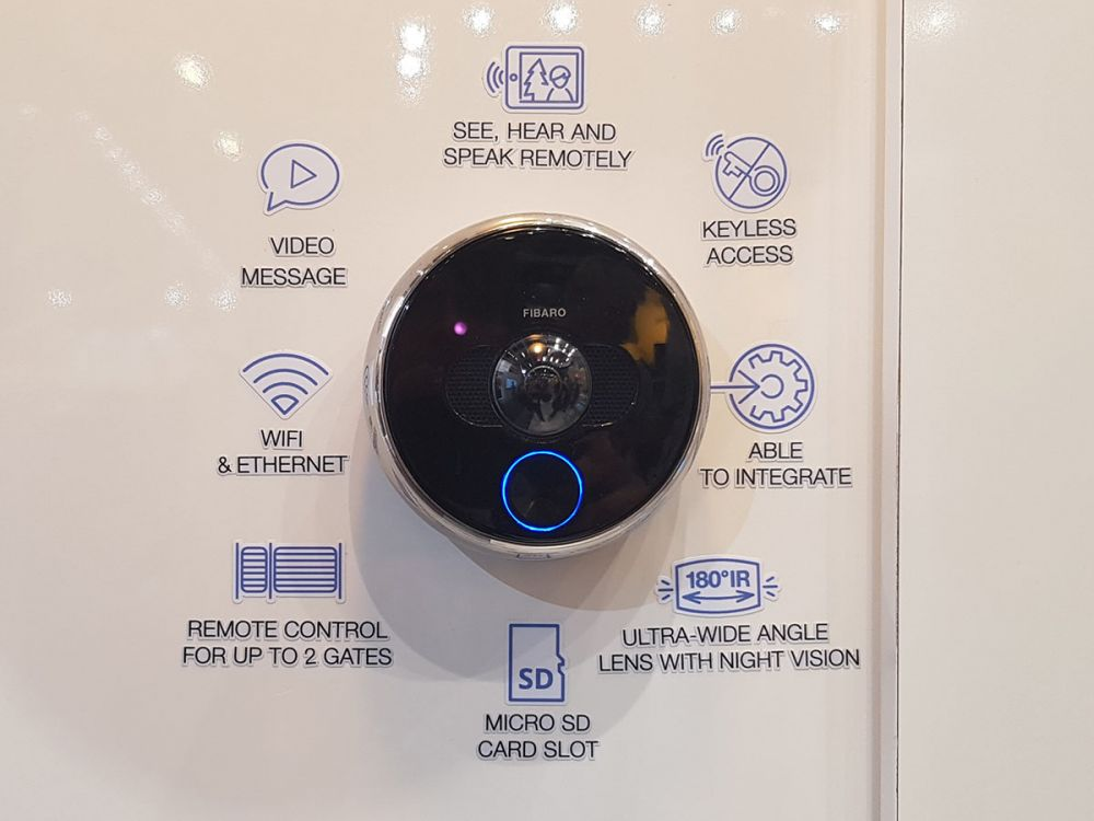 Fibaro smart home IFA 2017