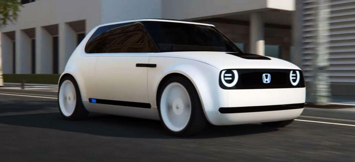 Honda również stawia na elektryfikację. Jej nową twarzą jest cudowna Honda Urban