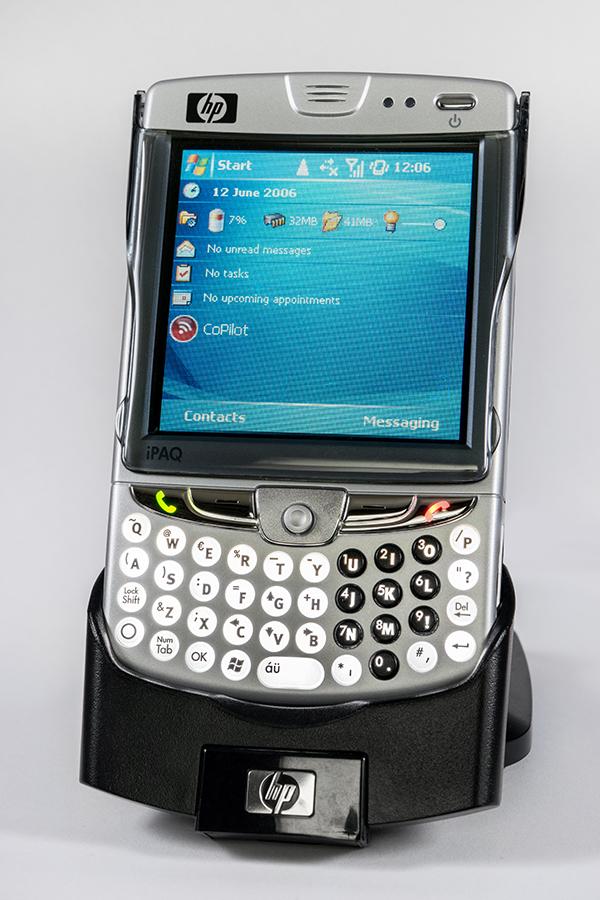 HTC historia HP iPAQ