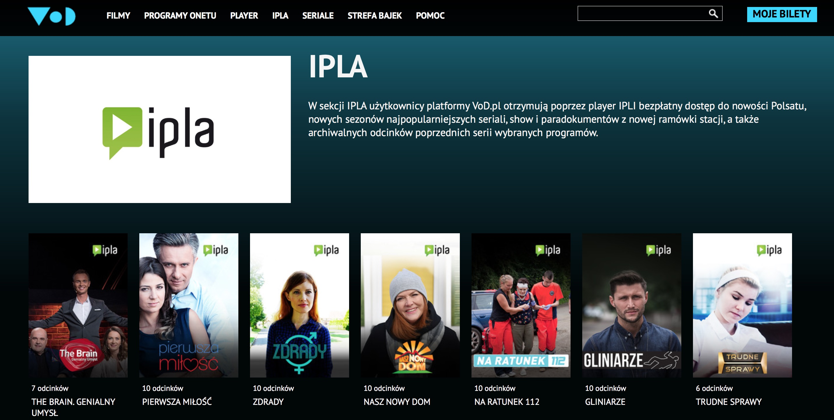 Vod.pl Ipla i Player.pl