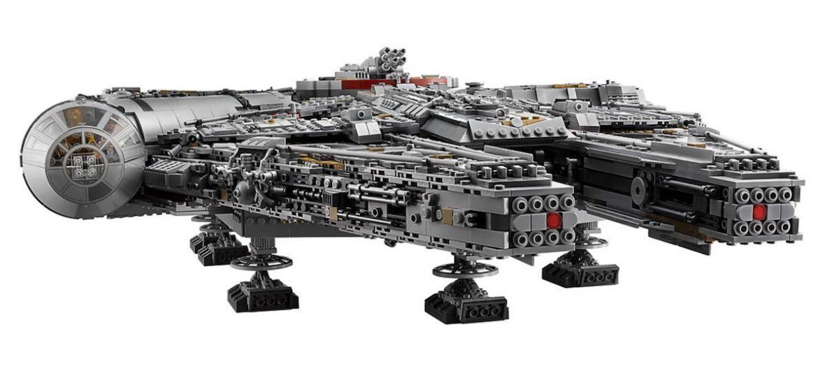 Piszę już list do Świętego Mikołaja. Sokół Millenium z 7541 klocków Lego wygląda obłędnie. Tak jak jego cena