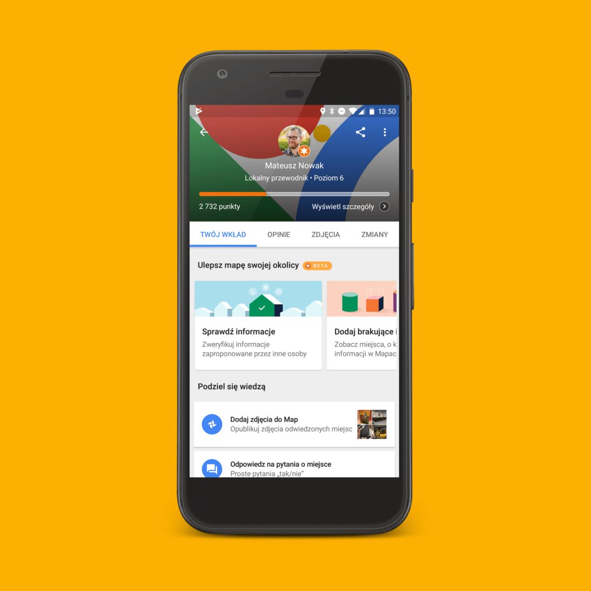 Nowość w Mapach Google: teraz dodasz własny materiał wideo