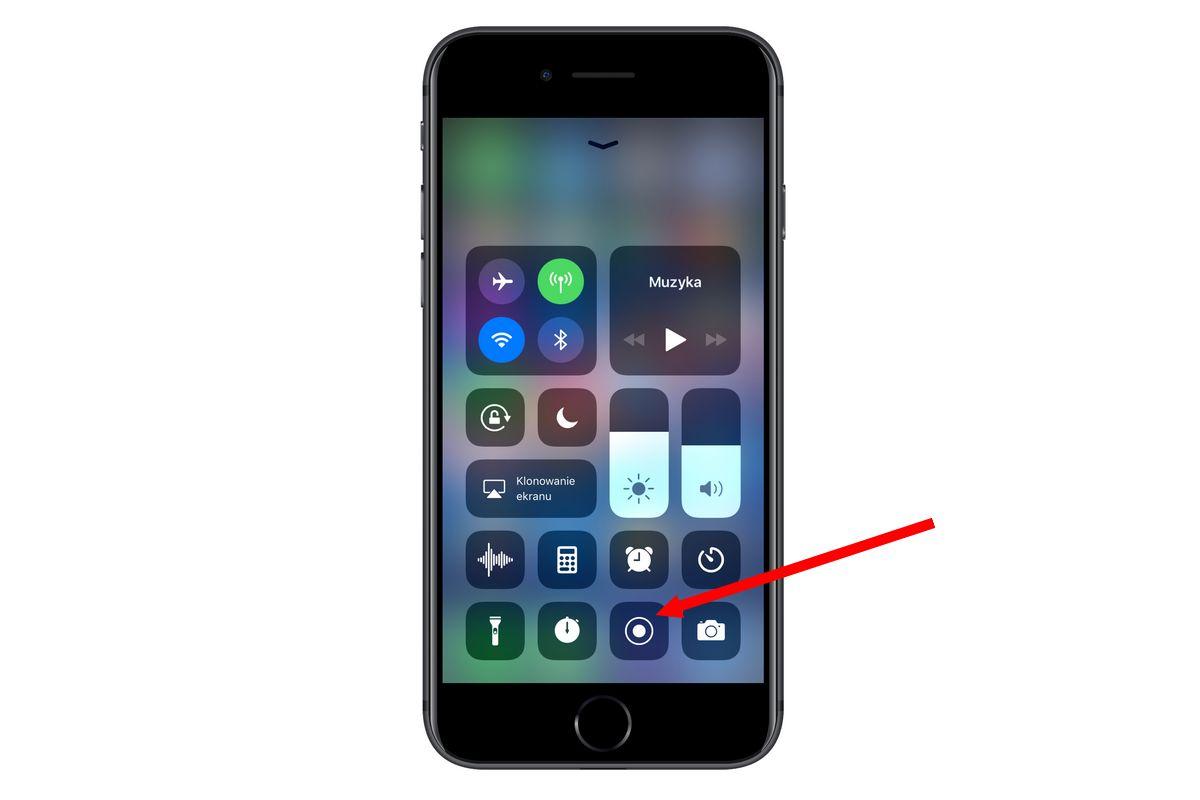 nagrywanie ekranu w iOS 11