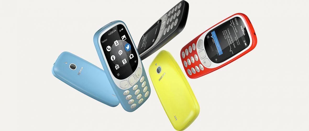 Nokia 3310 ponownie odświeżona. Nowy model obsłuży sieci 3G