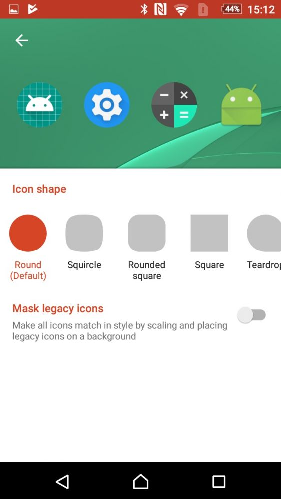 Nova Launcher Beta Adaptive Icons Android Oreo