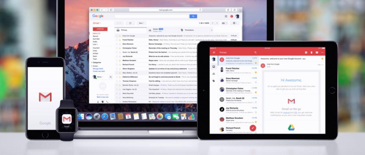Gmail będzie mądrzejszy i ładniejszy. Google chyba sobie przypomniał, że istnieją komputery