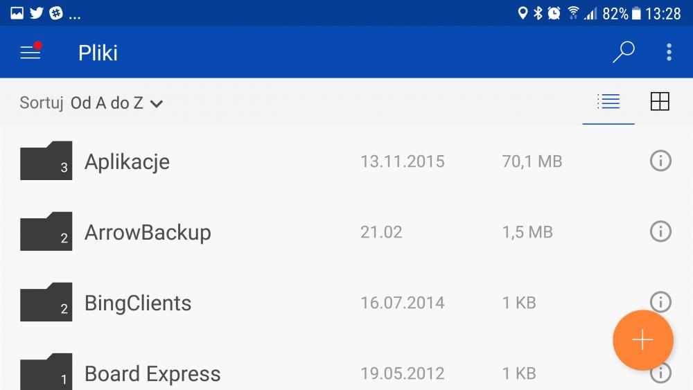 OneDrive nowe funkcje