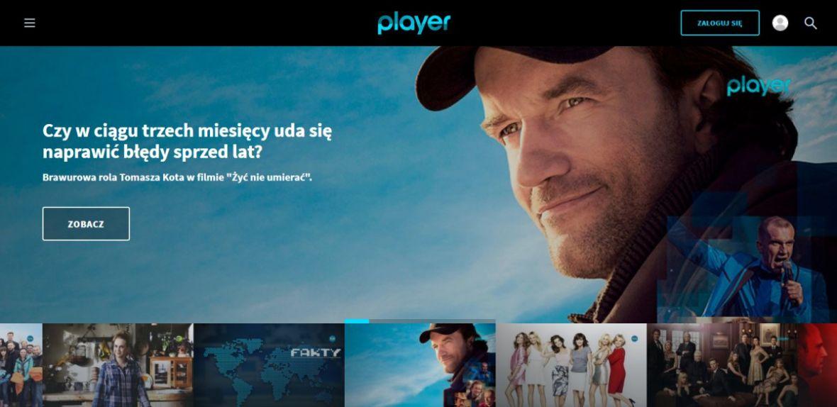 Player.pl jednak z ambicjami. Chce być bardziej jak Netflix