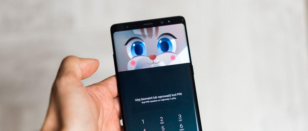Albo bezpiecznie, albo wygodnie, czyli jak odblokować Samsunga Galaxy Note 8