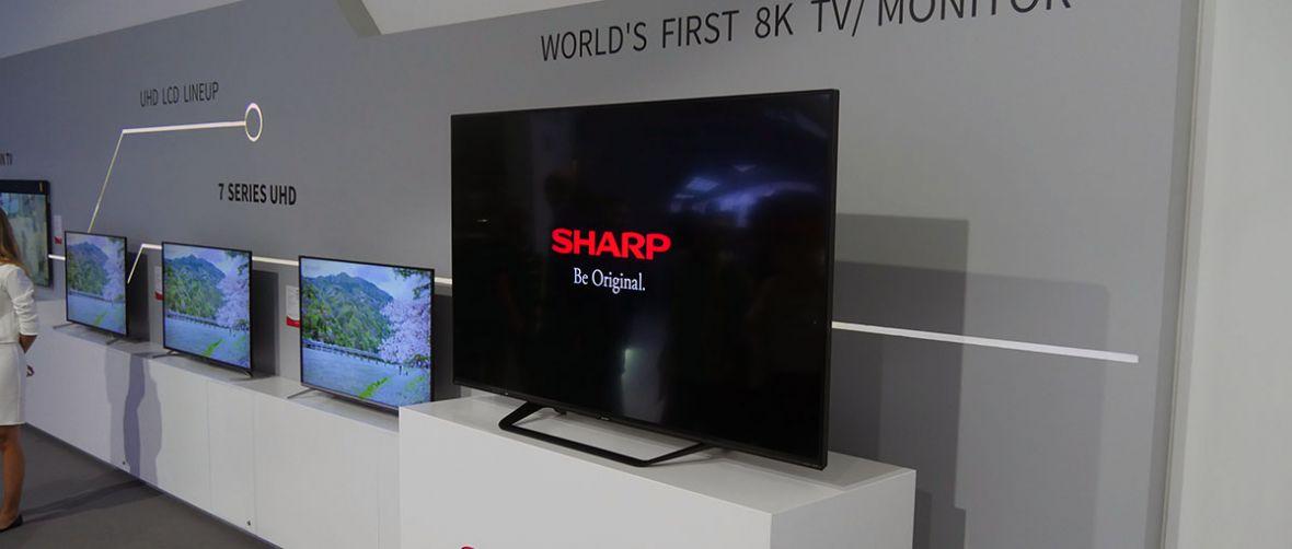 Sharp urządził pokaz siły, ale żeby zobaczyć różnicę, musiałbyś wsadzić nos w telewizor
