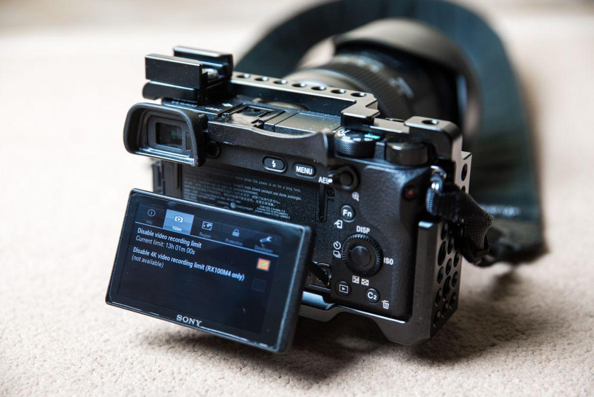 Jak zhakowałem aparat Sony i usunąłem limit czasu nagrywania