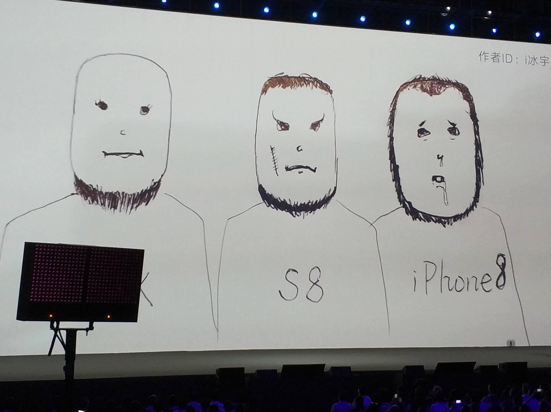 Co ciekawe podejście Xiaomi r³Å¼ni się od tego co kilka miesięcy temu zaserwował nam Samsung W Galaxy S8 przednia kamera i sensor zbliżeniowy znajdują się