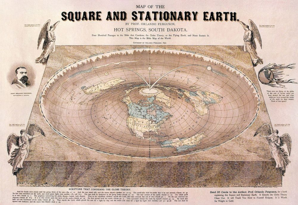 ziemia jest plaska badania